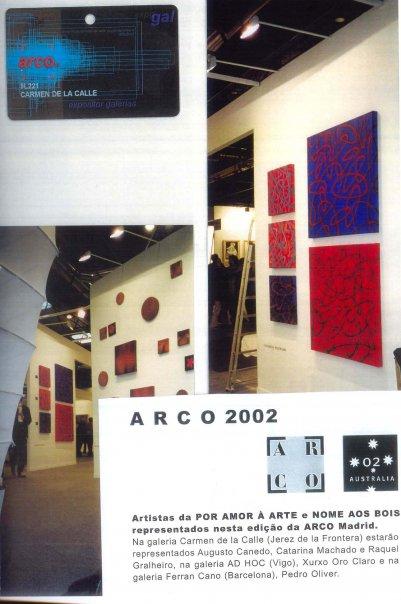 """Amostra de obras do """"período"""" 2000-2005"""